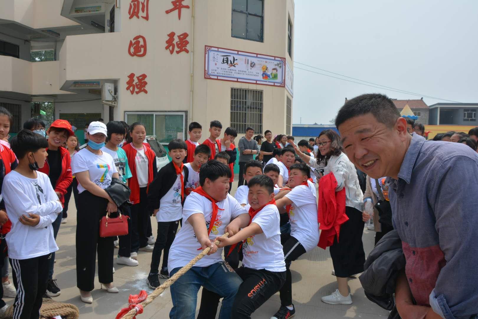 宁陵县张弓镇第二届中小学生春季运动会圆满成功